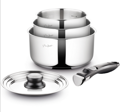 Lamart Stainless Steel Pots Set - Image 2