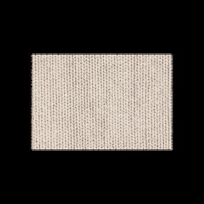 Plait 100% Handloom Wool Rug (2m by 3m) - Silver - Image 1
