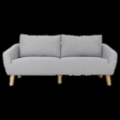 Hana 3 Seater Sofa with Hana Armchair - Image 2
