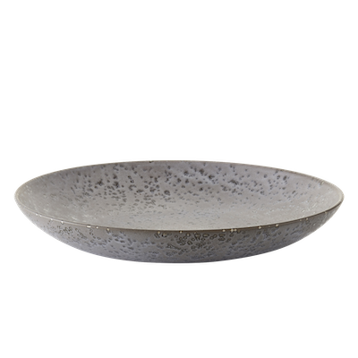 Mayu Serving Plate - Grey - Image 1