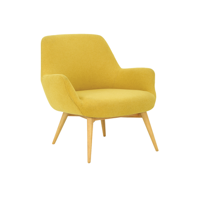 Belinda Lounge Chair - Yellow - Image 1