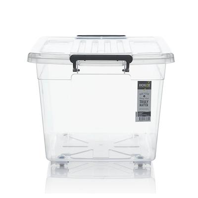 56L Storage Box with Wheels - Image 2