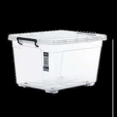 56L Storage Box with Wheels - Image 1