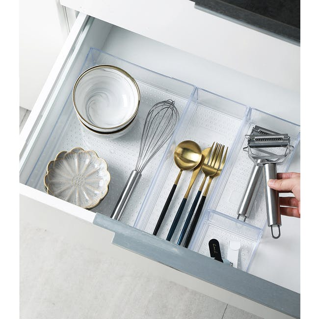 Hallie Clear Organiser - XL - 4