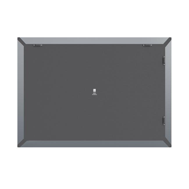 Trigon Metal Bulletin Board - Charcoal - 4