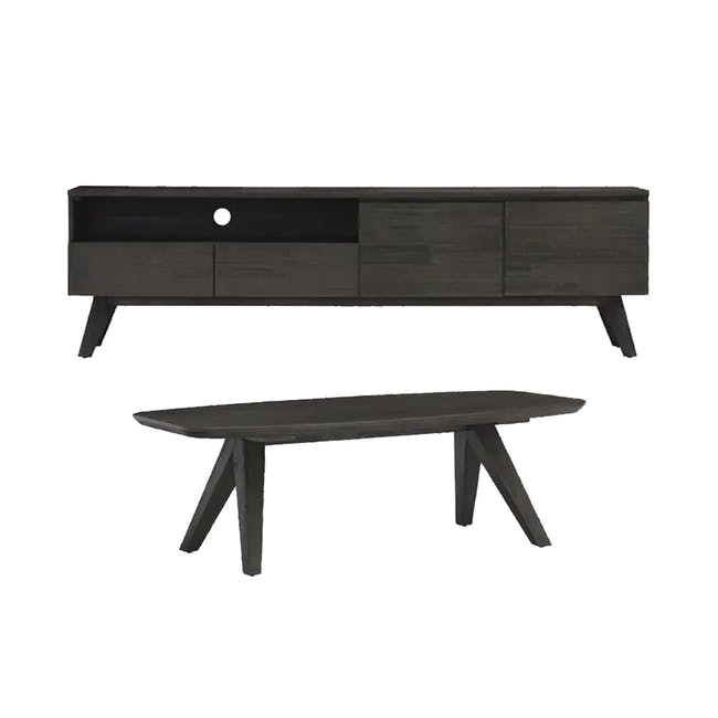 Maeve TV Console 2m with Maeve Coffee Table - 0