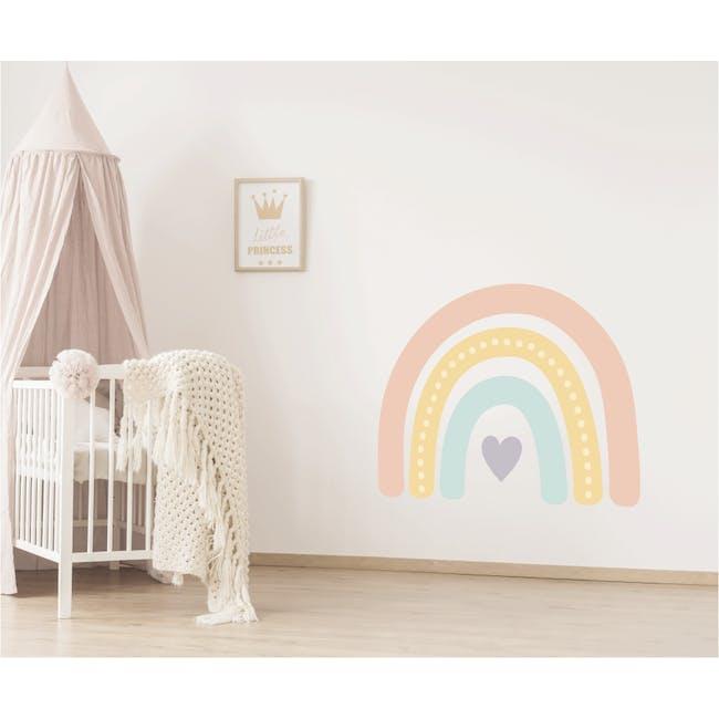 Urban Li'l Boho Jumbo Rainbow Fabric Decal Embellished - PowerPuff (2 Sizes) - 0