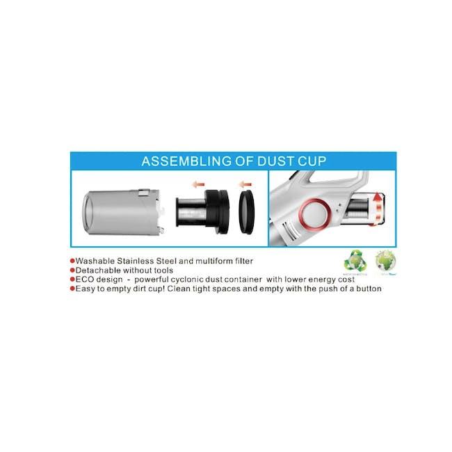TOYOMI Handheld Stick Vacuum Cleaner 800W VC 341 - 6