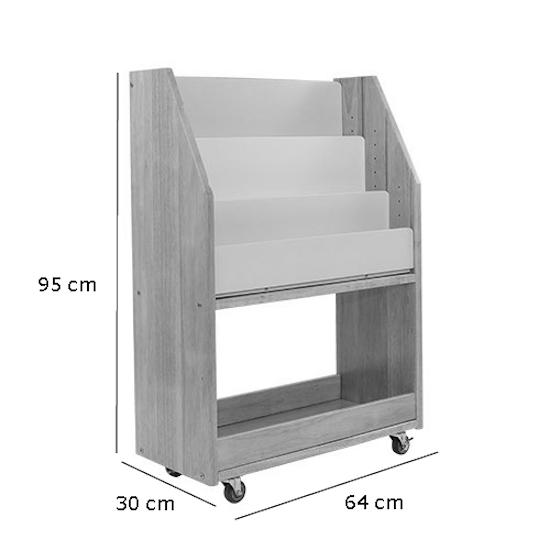 Liliewoods - Julian Bookshelves - White