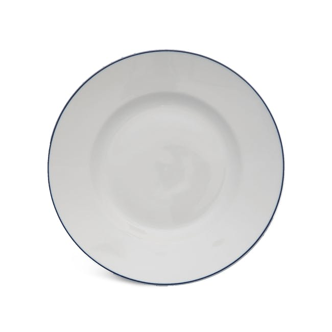 Blue Line Dinner Plate (Set of 4) - 0