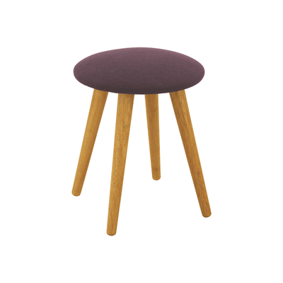 Poppy Stool - Natural, Violet