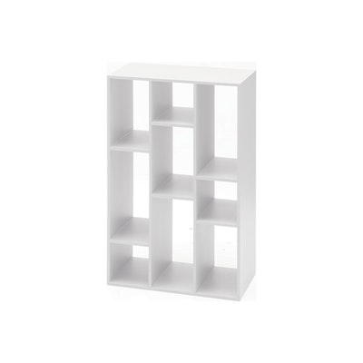 (As-is) Tertius Multi Shelving Cabinet - Snow - 1 - Image 1