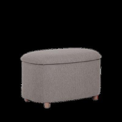 Galio Small Storage Pouf - Oak Brown - Image 1