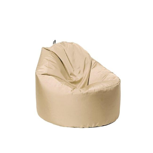 Oomph Mini Spill-Proof Bean Bag - Barley Beige - 0