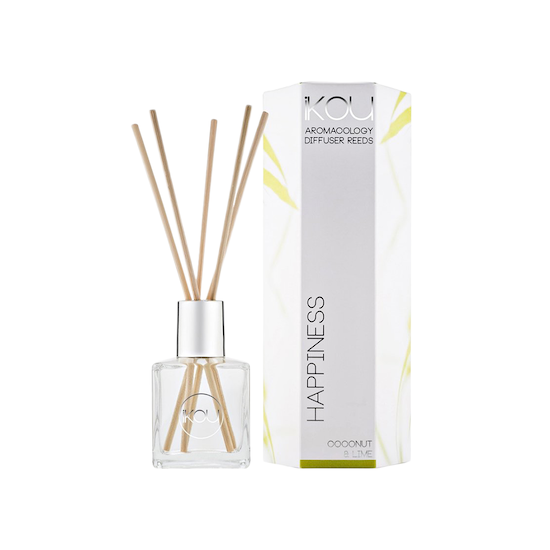 iKOU - HAPPINESS Reed Diffuser - Coconut & Lime