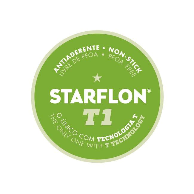 Tramontina Starflon Non-Stick Frying Pan Set - Red(3 Sizes) - 2
