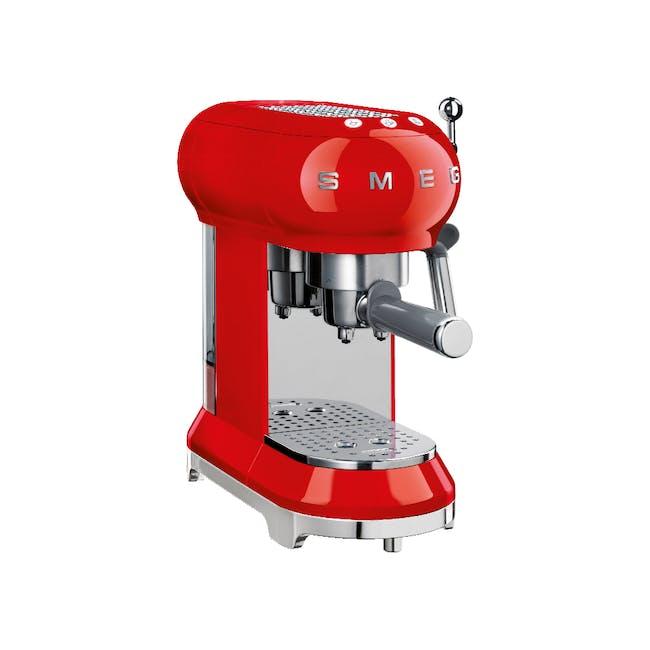 Smeg Espresso Coffee Machine - Red - 0
