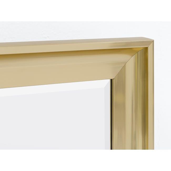 Scarlett Full-Length Mirror 70 x 170 cm - Brass - 1