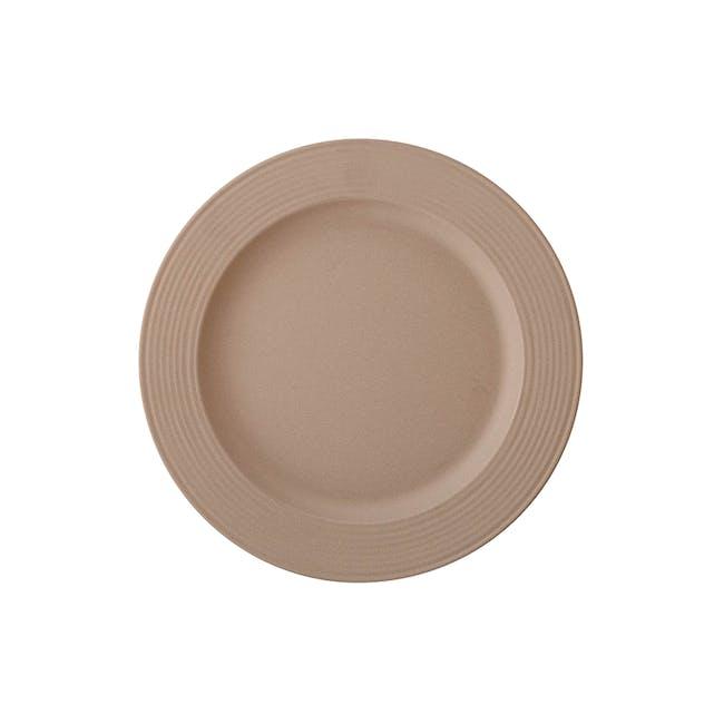 Rhea Side Plate - Brown (Set of 6) - 1