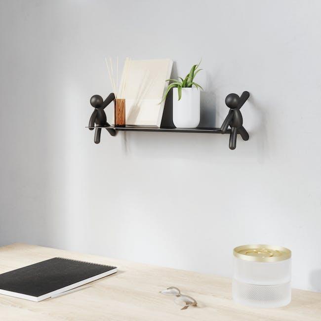 Buddy Wall Shelf - Black - 6