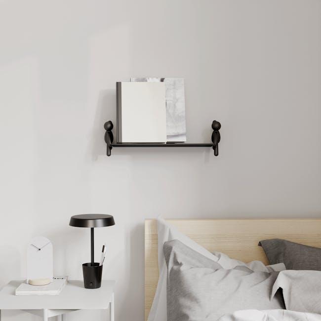 Buddy Wall Shelf - Black - 7