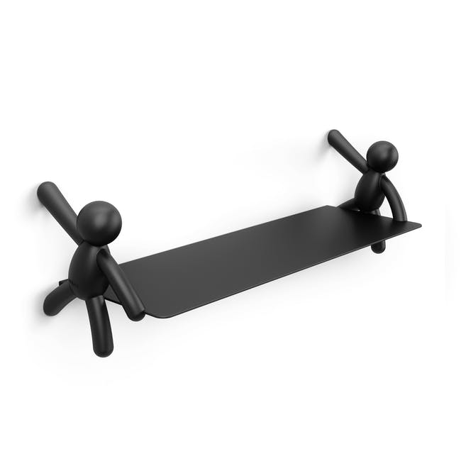 Buddy Wall Shelf - Black - 0
