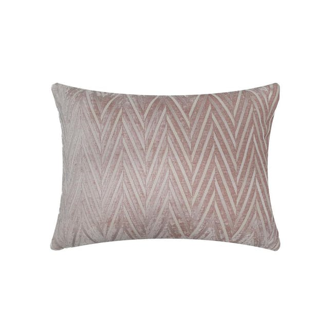 Lola Oblong Cushion Cover - Pink - 0