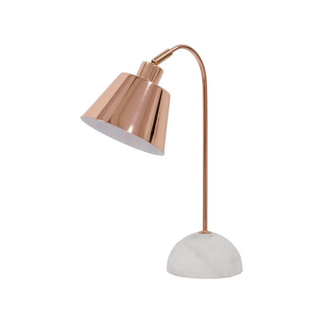 Charlotte Table Lamp - Copper - 1