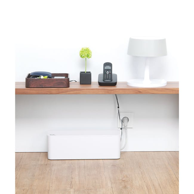 Bluelounge CableBox - White - 8