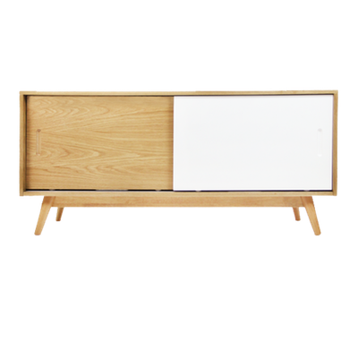Emelie TV Console 1.2m - Natural - Image 1