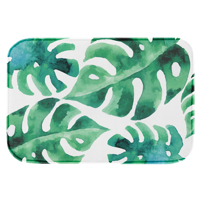 Lily Memory Foam Mat - Monstera - Image 2