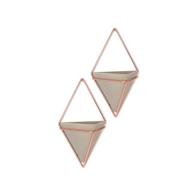 Trigg Small Wall Vessel (Set of 2) - Copper - 1
