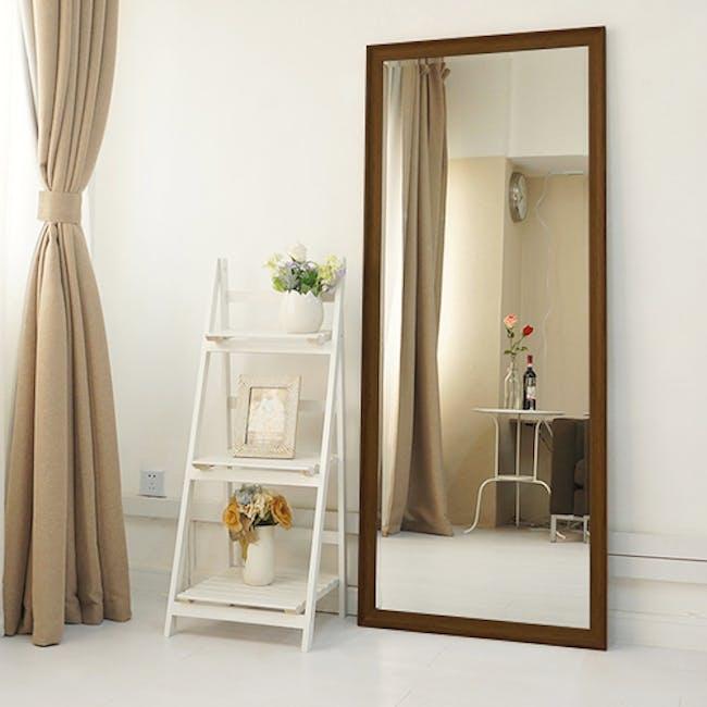 Scarlett Full-Length Mirror 70 x 170 cm - Walnut - 1