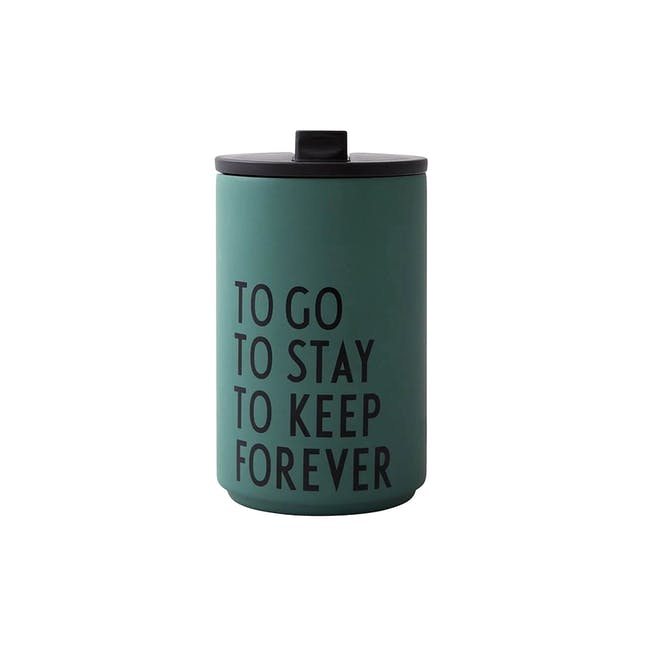 Insulated Cup - Dark Green (To Go) - 0