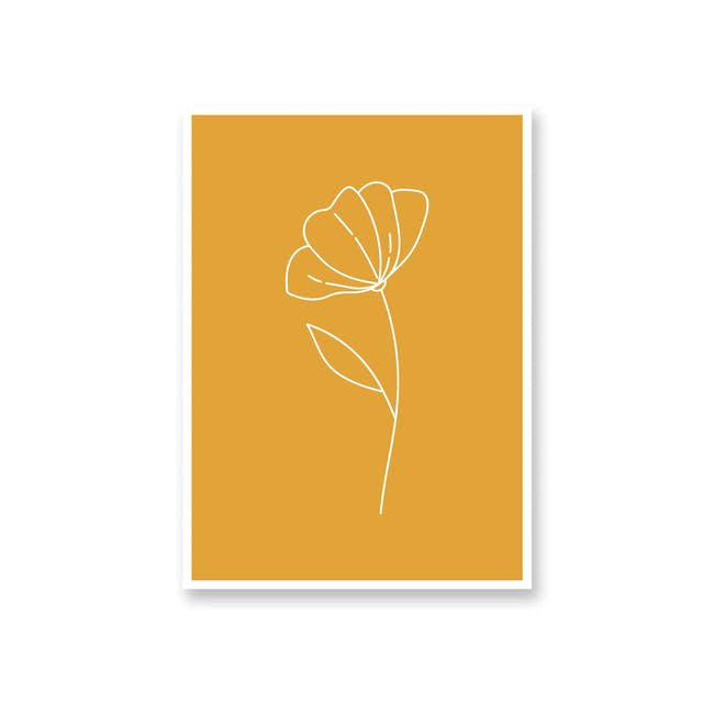 Borderless Positive Art Print on Paper (2 Sizes) - Buttercup - 0