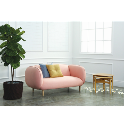Skoda Loveseat - Peach - Image 2