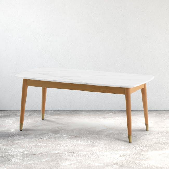 Hagen Marble Coffee Table - 2
