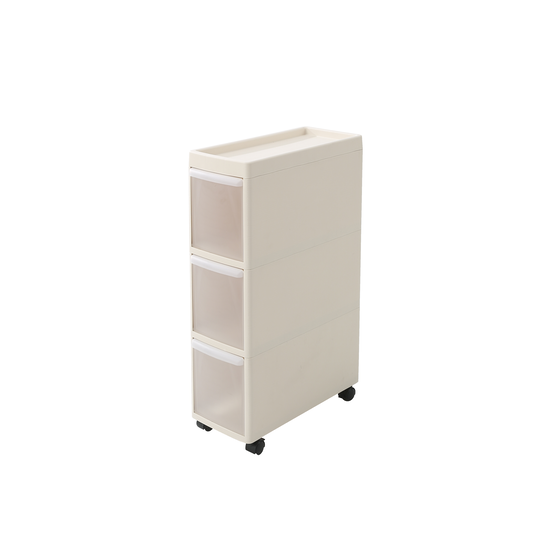 Houze - Modular 3 Tier Cabinet with Wheels
