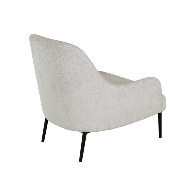 Bristol Lounge Chair - Ghost White (Fabric) - 3