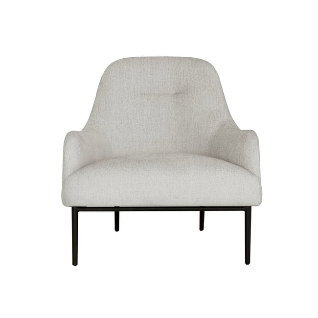 Bristol Lounge Chair - Ghost White (Fabric) - 1