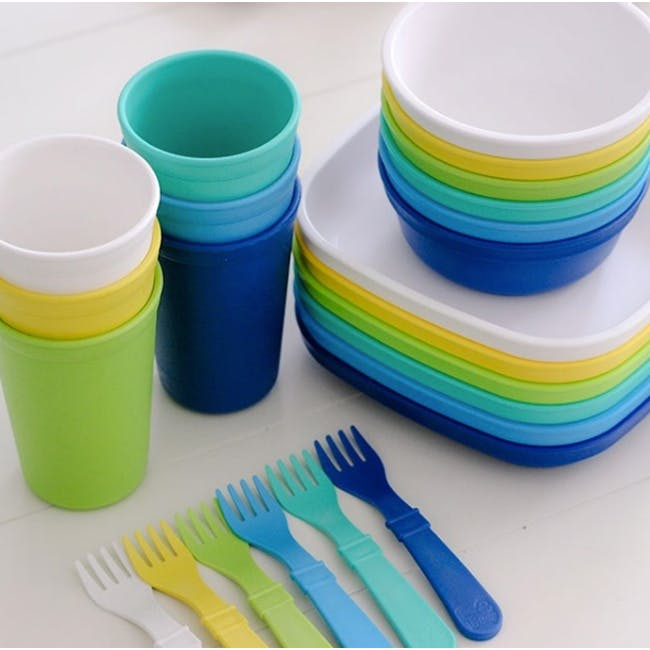 Re-Play Forks & Spoons Set of 4 - Boy - 1