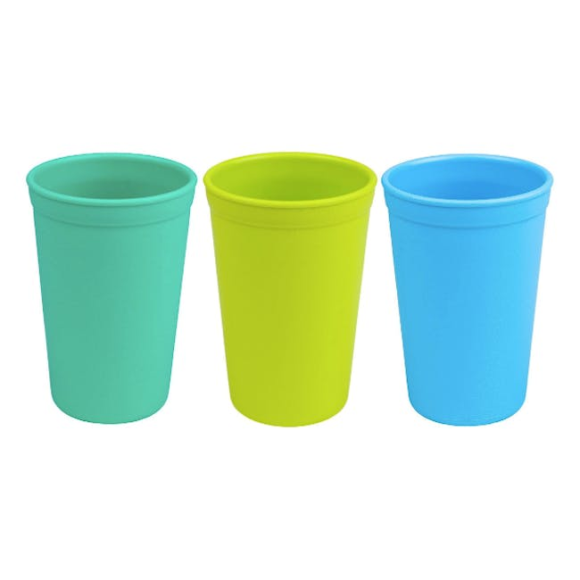Re-Play 10oz Drinking Cup - Sky Blue - 3