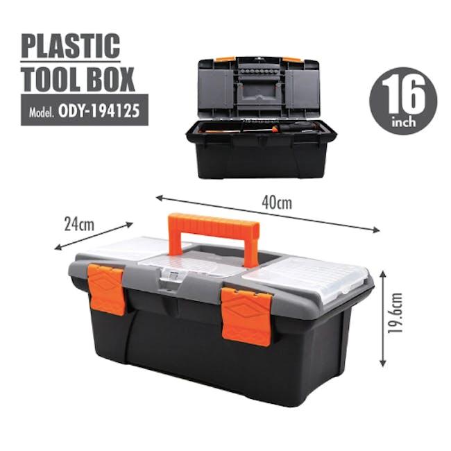 FINDER Plastic Tool box (4 Sizes) - 4