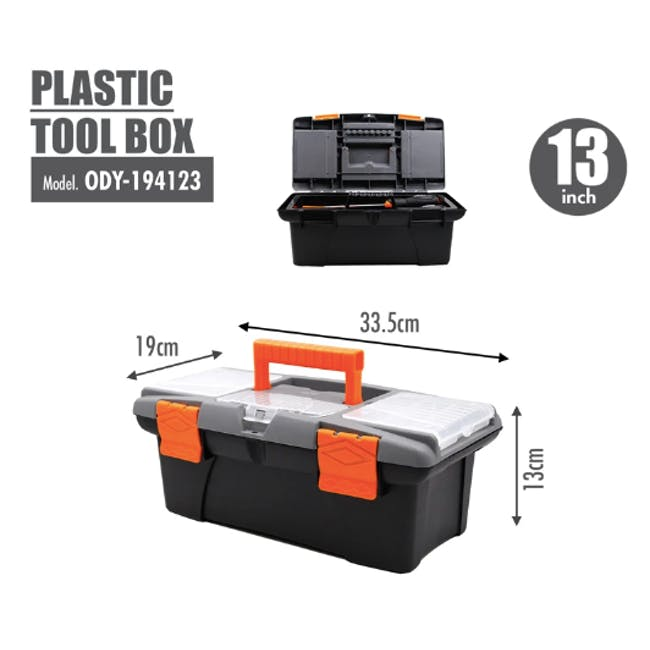 FINDER Plastic Tool box (4 Sizes) - 5