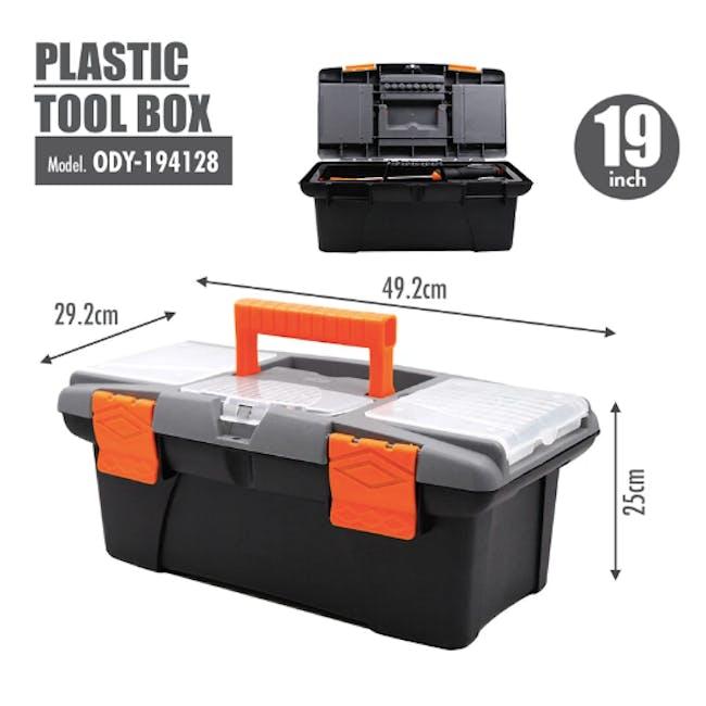 FINDER Plastic Tool box (4 Sizes) - 3