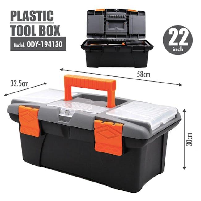 FINDER Plastic Tool box (4 Sizes) - 2