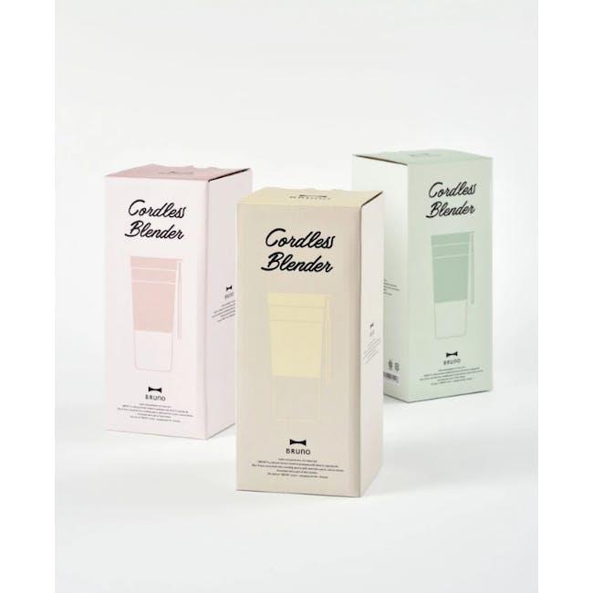 BRUNO Cordless Blender - Pink - 3