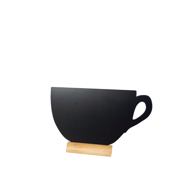 Securit Mini Teacup-Shaped Table Chalkboard - 0