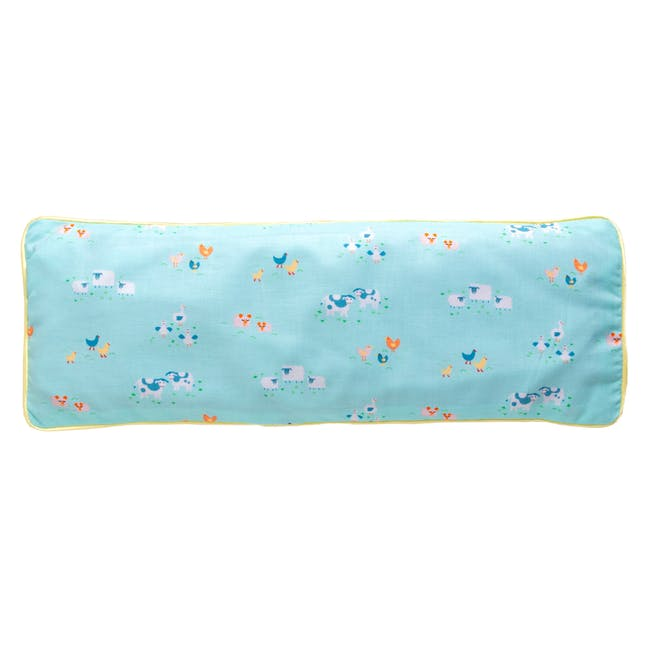 Picnic In The Park Snuggy Beansprout Husk Pillow - Blue - 0