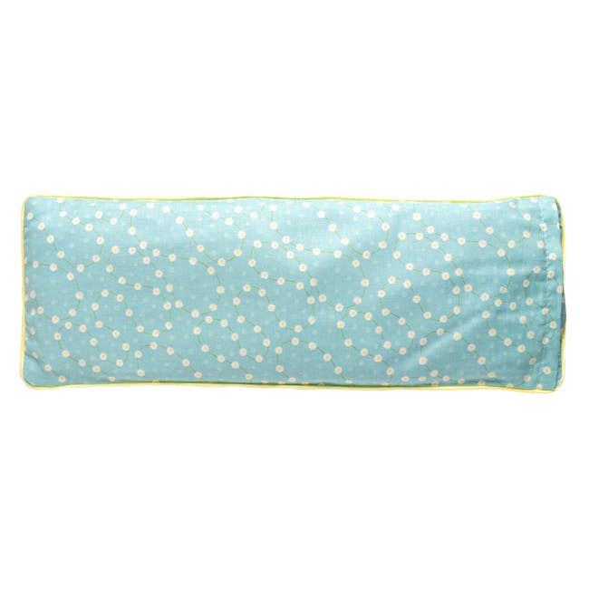 Picnic In The Park Snuggy Beansprout Husk Pillow - Blue - 1